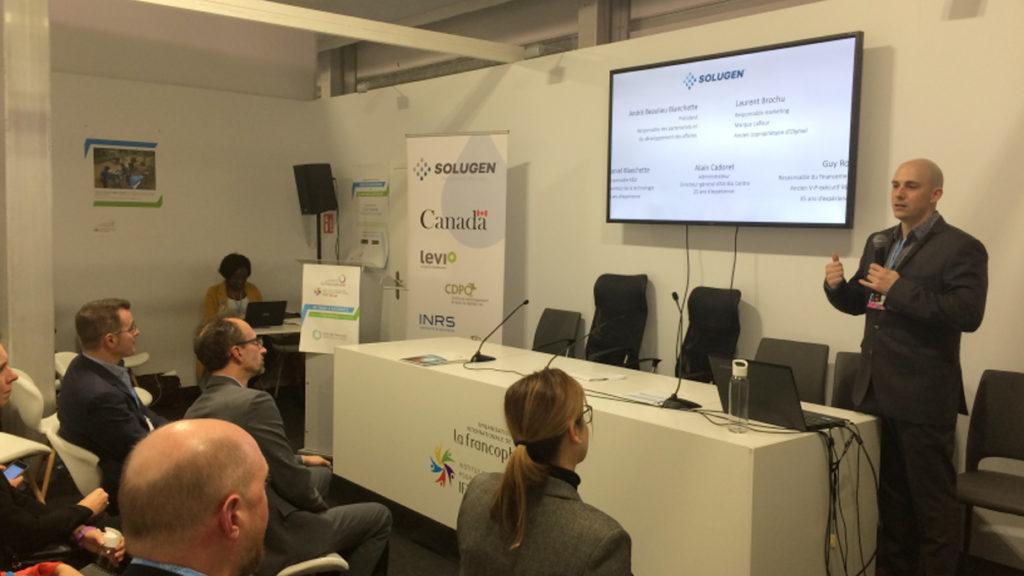 Solugen présente une solution novatrice de traitement des eaux usées à la COP 24