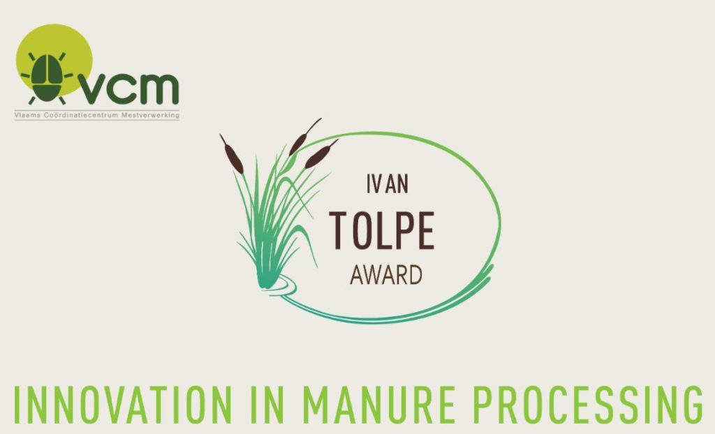 BELGIUM – IVAN TOLPE AWARD 2021 – INNOVATIVE MANURE PROCESSING SOLUTION