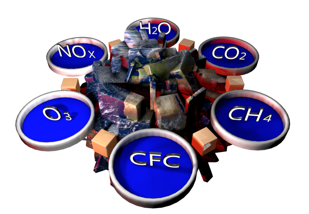 Greenhouse gases: reduction, recovery and circular economy